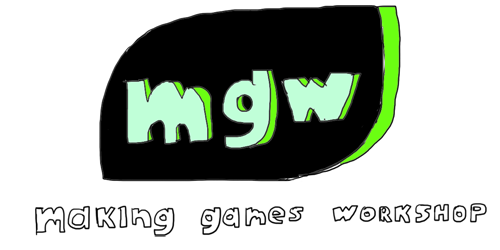 Logo text smaller